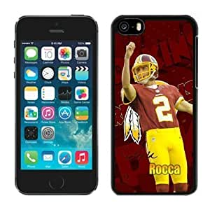 NFL Washington Redskins Sav Rocca iphone 5C Casecell phone cases&Gift Holiday&Christmas Gifts NFIU8714950