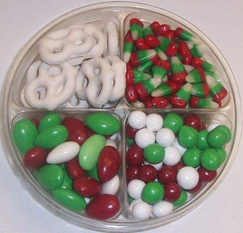 Scott's Cakes 4-Pack Dutch Mints, Reindeer Corn, Christmas Jordan Almonds, & White Pretzels by Scott's Cakes