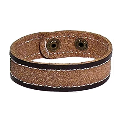 AUTHENTIC HANDMADE Leather Bracelet, Men Women Wristbands Braided Bangle Craft Multi [SKU001620]
