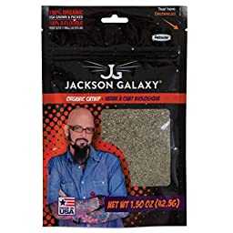 JACKSON GALAXY Organic Catnip Toy, 1.5 oz