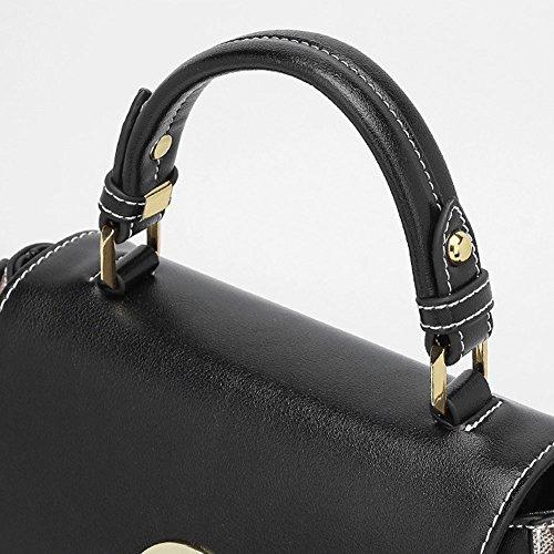 à Black PVC main féminin bandoulière sac sac Lxf20 à sac en Sac bandoulière Sac bandoulière à à gHx1zf