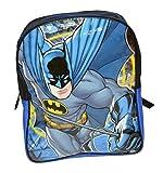 Warner Brothers Boys' Batman Backpack Good Comfort, Black/Blue