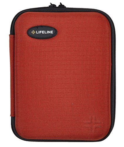 Lifeline 85 Piece First Aid Emergency Kit - Small and Compact Size - Ideal for camping, sporting events, hiking, cycling, car as well as home, school and office by Lifeline