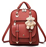 Best GENERIC City Backpacks - Women Girl Fashion Synthetic Leather School Shoulder Bag Review