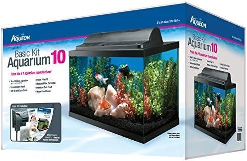 Aqueon 10-Gallon Fish Tank Basic Kit