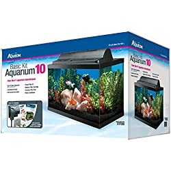Aqueon Basic Kit Aquarium, 10 Gallon