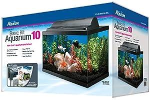 6. Aqueon Basic 10 Gallon Kit Aquarium