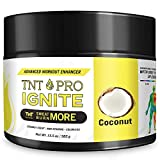 Fat Burning Cream for Belly with Coconut Oil - TNT Pro Ignite Sweat Cream for Men and Women - Thermogenic Weight Loss Slimming Workout Enhancer for Stomach, Abdominal Burner - 6.5 oz Jar