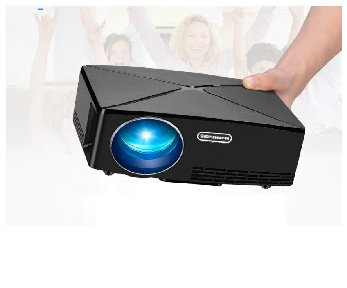 Amazon.com: AUN Mini Projector C80 UP, 1280x720 Resolution ...
