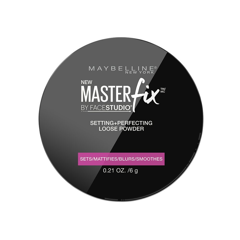 Maybelline Facestudio Master Fix Setting + Perfecting Loose Powder, Translucent, 0.21 oz. Inc.