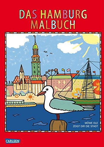 Das Hamburg Malbuch Amazon De Kielhauser Max Bucher