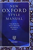 New Oxford Style Manual, , 019965722X