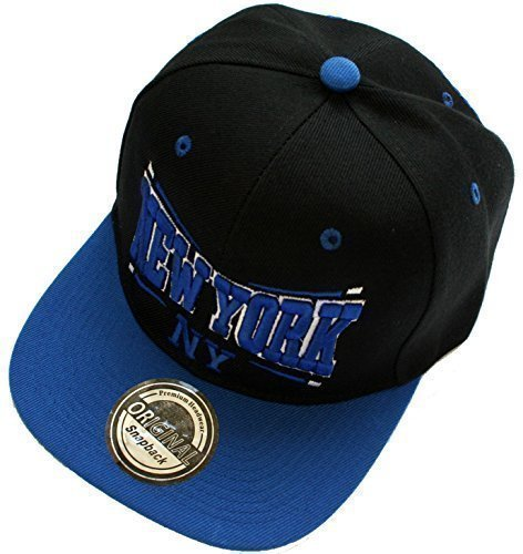 y gorra New York azul negro nqx0nUX
