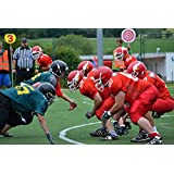 Home Comforts Canvas Print Football Position Play-Off American Football Stretched Canvas 10 x 14