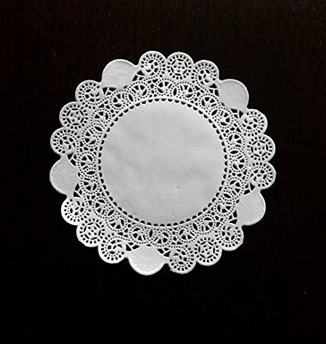 6 inch Variety Pack 150 pc. Paper Lace Doilies - Cambridge Royal French - 50 of Each by The Baker Celebrations (Image #5)