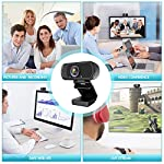 ZIQIAN Live Streaming Web Camera with Stereo Microphone
