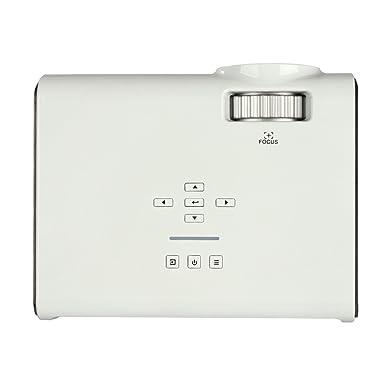 NIUQY Dispositivo inteligente moda U45 1600 lúmenes 1080P ...