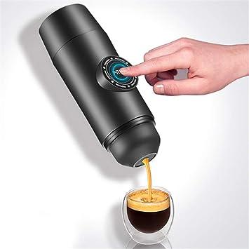 MIJNUX Máquina de café portátil con cápsulas Taza de café Mini ...