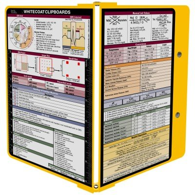 WhiteCoat Clipboard - Yellow - Medical Edition by WhiteCoat Clipboard