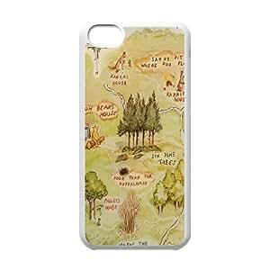 Customized Winnie the Pooh Hard Case For Iphone 5c TPUKO-Q843631