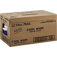Kraft Frozen Cool Whip Regular Topping, 16 Ounce - 12 per case.