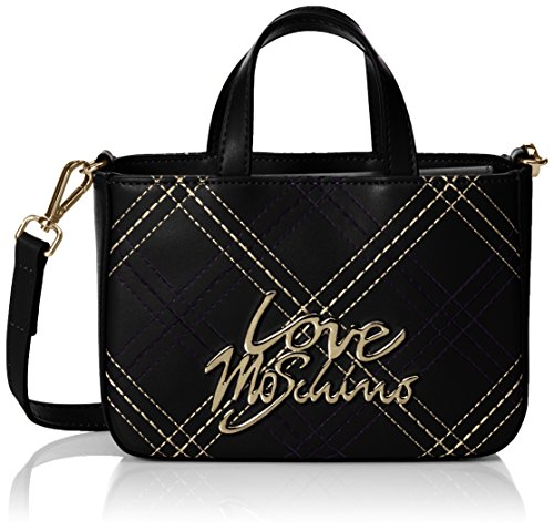 Love a Borse Tracolla Nero Moschino Love Black Donna Moschino 5xwqTg4q