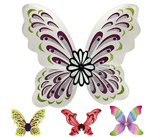 Enimay Large Butterfly Fairy Nymph Wing Costume Halloween Accessory Fairy Demon