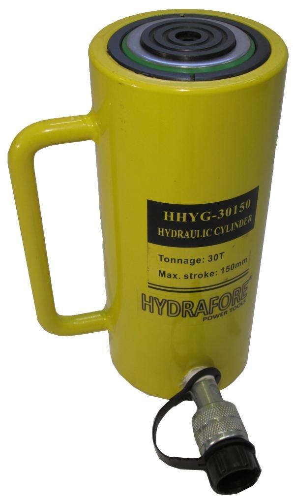 HYDRAFORE Einzelwirkender Hydraulikzylinder (30 Ton 150 mm)