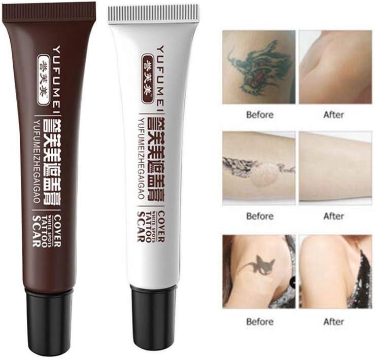 Corwar Corrector de recubrimiento de tatuajes, maquillaje ...