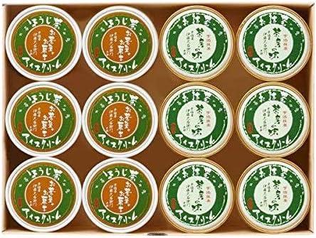 お取り寄せ(楽天) 伊藤久右衛門 宇治抹茶アイス&ほうじ茶アイスクリーム 詰め合わせ 6個入 価格3,990円 (税込)