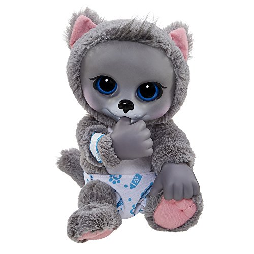 Animal Babies Baby Siberian Husky Plush free shipping