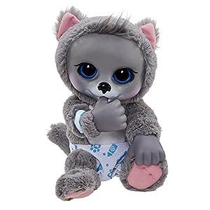 Amazon Com Animal Babies Baby Siberian Husky Plush Toys
