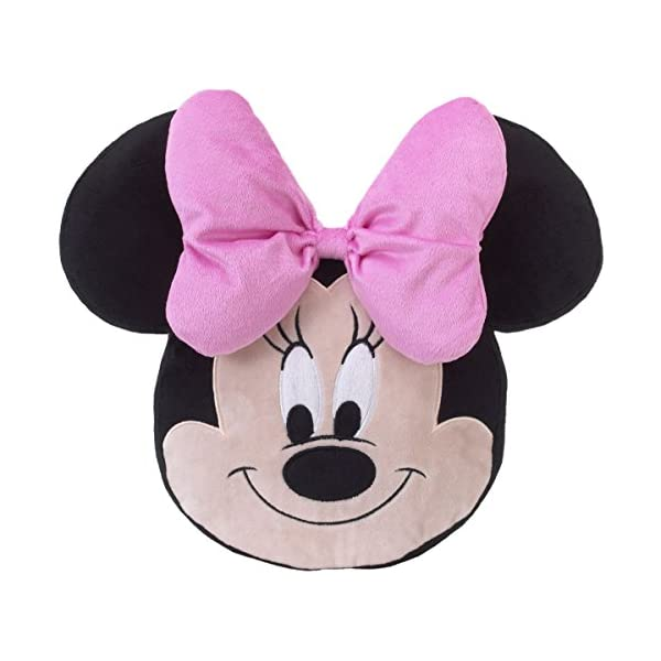 Disney Minnie Mouse – Nursery Crib or Toddler Bed Decorative Pillow
