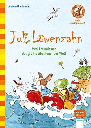 Juli Löwenzahn. Zwei Freunde und das größte Abenteuer der Welt: Der Bücherbär: Mein LeseBilderbuch: