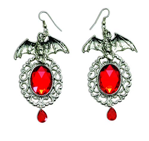 - Vampiress Bat Earrings