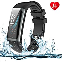WELTEAYO Fitness Activity Tracker Watch with Heart Rate Monitor