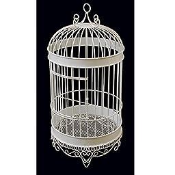 Homeford Bird Cage Wedding Centerpiece, White