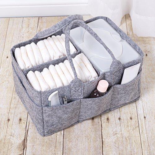 Sammy & Lou Felt Storage Caddy, Gray by Sammy & Lou (Image #3)