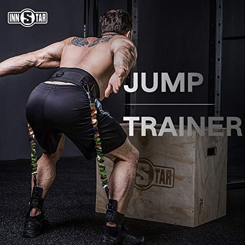 INNSTAR Vertical Jump Trainer Leg Strength Resistance Bands Set for Basketball Triple Jump Football Volleyball Training Provide of Customized Services