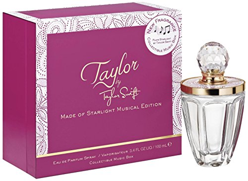 Price comparison product image Taylor Swift Eau de Parfum Spray + Collectable Music Box for Women,  3.4 Ounce