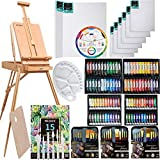 MEEDEN 145 Pcs Deluxe Artist Painting Set with