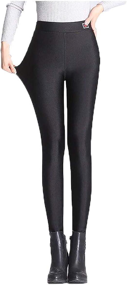 Leggings Pantalons Thermique pour Femme Matériau Souple