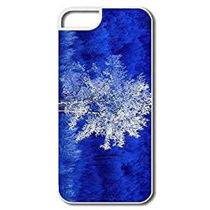 Favorable Frosted Aspen Tree Plastic Case Cover For IPhone 5/5s
