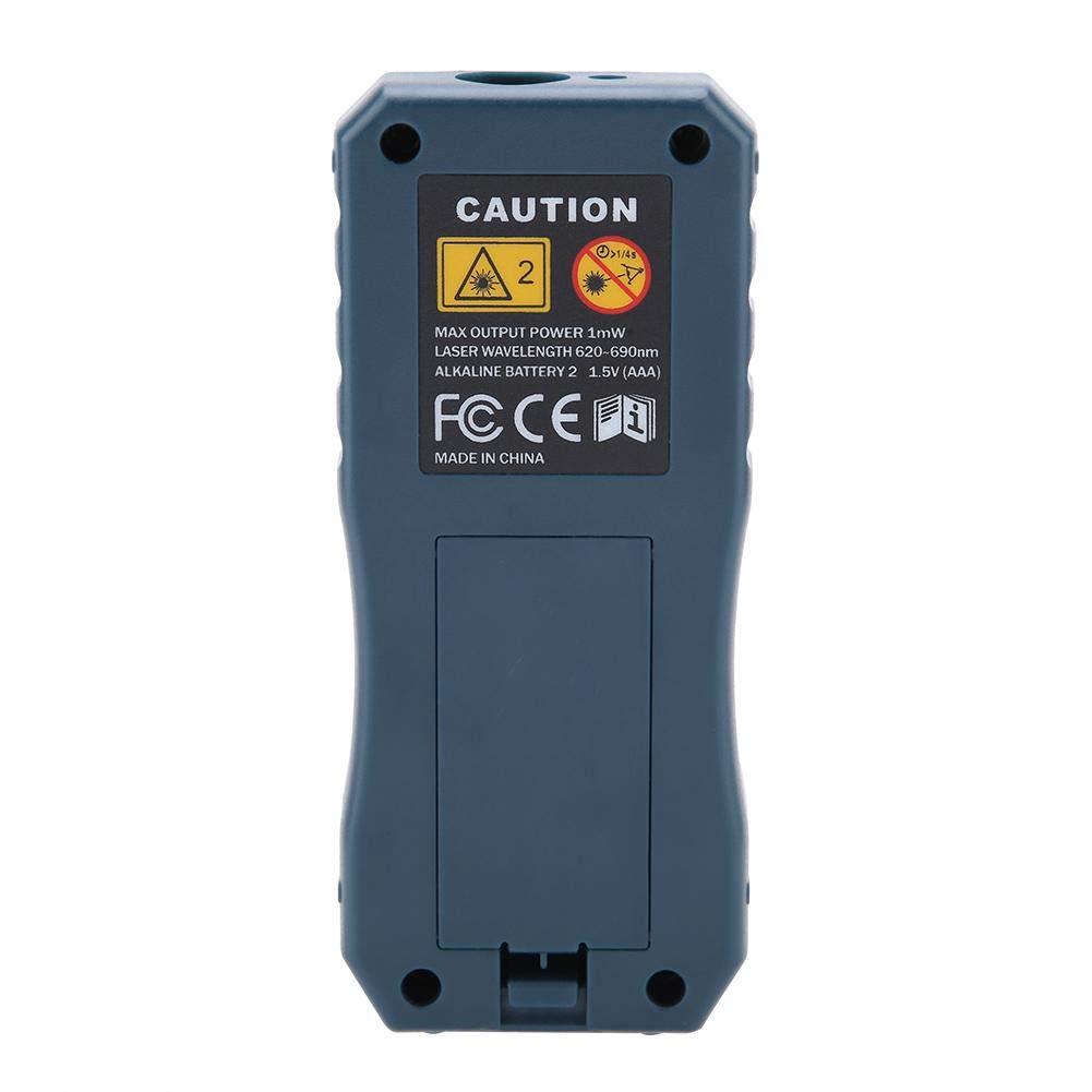 S40 T/él/ém/ètre Laser Num/érique T/él/ém/ètre Laser en Bleu Mesure Plage de 0,05 /à 40 m \ 0,05 /à 60 m \ 0,05 /à 80 m \ 0,05 /à 100 m