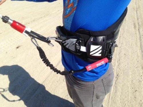 Kitesurfing Kiteboarding Mini Slider Release Kite Leash by PKS
