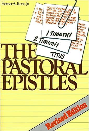 Image result for homer kent pastoral epistles