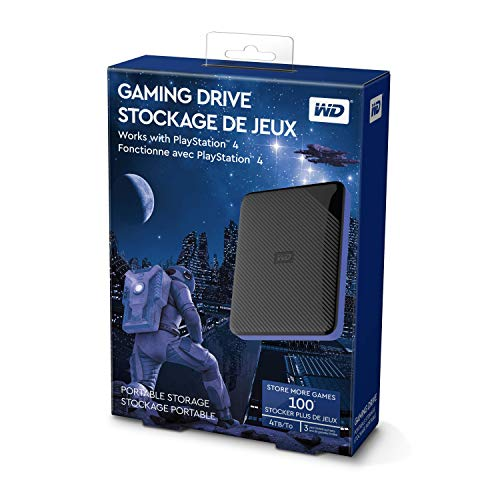 515CeHhXk1L - WD 4TB Gaming Drive Works with Playstation 4 Portable External Hard Drive - WDBM1M0040BBK-WESN