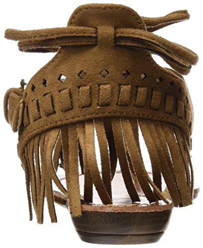 Camel Mujer 063432 Hueso Sandalias para con Abierta Punta Refresh PqSz1