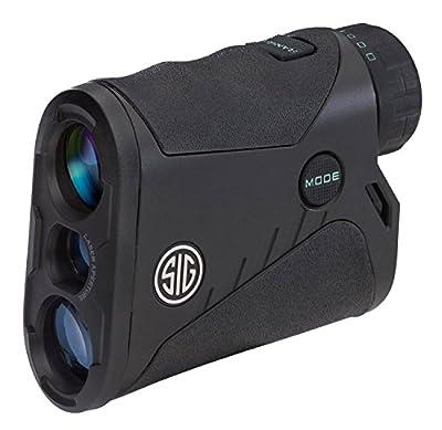SIG Sauer Kilo850 4x20mm Laser Rangefinder, Black