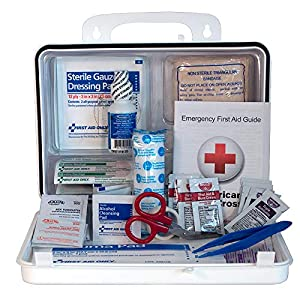 25 Person First Aid Kit, Meets OSHA and ANSI Standards